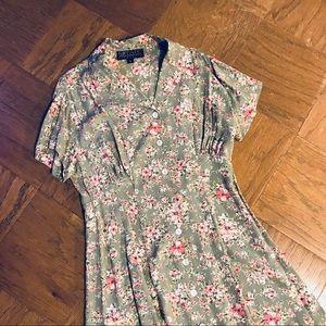 Karen Kane Floral Summer Dress